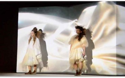 Shiseido Book Projection Mapping