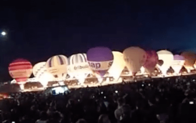 Balloon Light Show Bristol 360