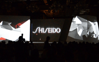 Shiseido 3D Projection Mapping